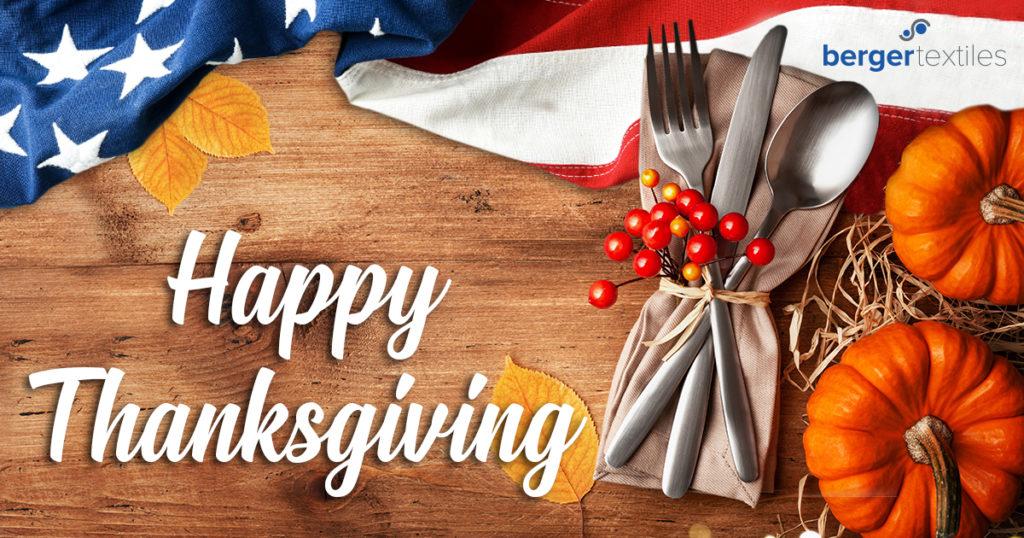 Happy Thanksgiving Bergertextiles Com